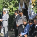 مراسم سخنرانی در روز افتتاحیه