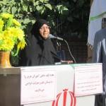 سخنرانی مادر شهید احمدی روشن